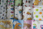 CLOSING DOWN *****Set of muslins 70x 80cm for boy or girl  RANDOM    3.5 or 10