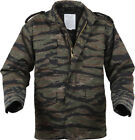 Camo Military M-65 Field Coat Camouflage Army M65 Tactical Uniform Jacket M1965