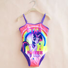 Kids My Little Pony Girls Bikini Set Mermaid One-Piece Swimwear Swimsuit 2-10Y