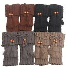 Warmers Winter Boot Toppers Tassel buttons Short Liner Boot Socks Ladies Gifts