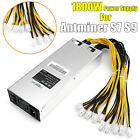 1600W/1800W Platinum Mining Power Supply For Antminer Miner S9 S7 L3+ D3 APW3