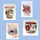 Choice of 4 Yankee Candle Holiday CHRISTMAS VOTIVE HOLDERS  NEW