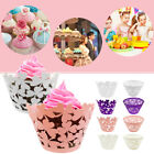 50pcs Muffin Cup Cake Wrapper Wrap Case Xmas Wedding Birthday Party Liner Decor