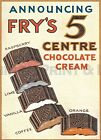 """Vintage  Poster :-""""FRY'S 5 Centre  POSTER A1/A2/A3 & A4 Print - 019"""