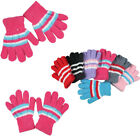 12pairs Women Fuzzy Cozy Winter Warmer Knit Knitted Casual Gloves Stretch Lot