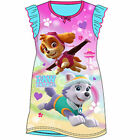 Girls Nickelodeon Paw Patrol Nightdress Sleepwear Pyjamas NEW
