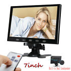 "7"" LCD 800x480/1024x600 HDMI VGA AV HD Monitor w/ Speaker for DSLR Raspberry PI"