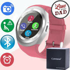 Bluetooth Smart Watch Wrist Band for Android IOS Phone Camera GSM SIM *Y1 Sports