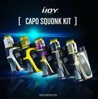 AUTHENTIC iJOY CAPO SQUONKER MOD FULL KIT 100W w/ COMBO RDA & 20700 Battery