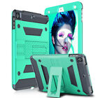 Shockproof Rubber Hard Kickstand Kids Case Cover For iPad 9.7 Inch 2018 6th Gen