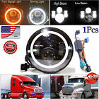 LED Headlight 7 Inch H4 H13 Hi/Lo Beam Lamp For Freightliner Century Class H6024