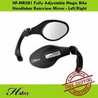Hafny HF-MR081 Fully Adjustable Magic Bike Handlebar Rearview Mirror-Left/Right