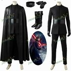 Star Wars-The Last Jedi Kylo Ren Ben Solo Black Halloween Cosplay Costume Shoes $107.0 USD