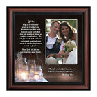 Christian Wedding Gifts for Couple, Rustic Wedding Décor, Wedding Photo Frame