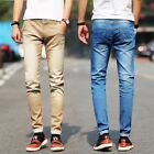 Elastic Jeans New Street Style Men Pencil Pants Stretch Homme Skinny Trousers