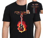 New FOREIGNER TOUR 2017-2018 With Dates Men's T-Shirt Tees Size S-5XL
