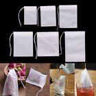 100Pcs Non-woven Empty Teabags String Heat Seal Filter Paper Herb Tea Bags o1w