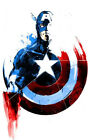 Diamond Embroidery DIY 5D Cross Stitch Cartoon Captain America Diamond Painting