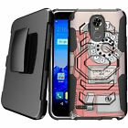 For LG Stylo 3 | LG Stylo 3 Plus LS777 (2017) Holster Clip Stand Case - Vintage
