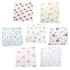 6Layer Baby Handkerchief Square Towel Muslin Cotton Infant Face Towel Wipe Cloth