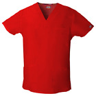 Dickies Scrub Top 81906 Mens EDS V-Neck Scrub Top Medical ~NEW~ Free Shipping <br/> ~14 COLORS~  Sizes - S to 5XL  ~FREE SAME DAY SHIPPING~