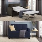 Sleeper Sofa Memory Foam Mattress Loveseat Couch Convertible Guest Bed Twin NEW