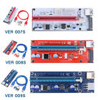 USB 3.0 PCI-E 1x to 16x VER 007S 008S 009S Extender Riser Card Adapter BTC Cable