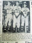 2 1943 newspapers ST LOUIS CARDINALS with STAN MUSIAL win theNL baseball pennant