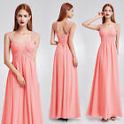 US Formal Women Long Ball Gown Party Prom Wedding Bridesmaid Evening Dress 08863