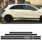 For Mercedes Benz W176 A Class Side Roof Bonnet Set Edition1 Style A45 AMG Decal