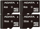 8gb micro sd card with adapter - ADATA MICRO SD CARD 4GB 8GB 16GB 32GB 64GB With Adapter Class 4