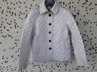 BURBERRY BRIT Womens Stone Quilted Jacket Nwt