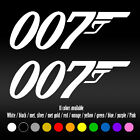 "7"" 007 James Bond Movie UK Agent Laptop Bumper Car Window Vinyl Decal sticker $7.77 CAD"