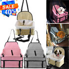 Portable Dog Puppy Cat Car Seat Carrier Belt Booster Travel Fold Bag For Pet OUY