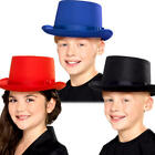 Top Hats Childrens Fancy Dress 1920s Showtime Gangster Kids Costume Accessories