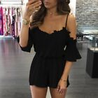 Rompers Women Lace Jumpsuit Elegant Short Overalls Jumpshort Female Playsuit New