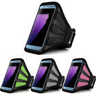 For Samsung Galaxy S8 / iPhone 8 Running Jogging Sport Gym Mesh Armband Case