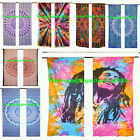 Mandala Curtains 2 Pc Panel Set Tree Of Life Window Treatment Drapes & Valances