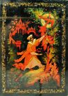Russian Fairy Tales 54 Playing Cards Deck Palekh and Kholui Miniatures, Sealed