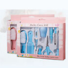 10pcs/Set Newborn Baby Kids Nail Hair Health Care Thermometer Grooming Brush Kit