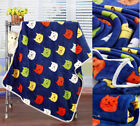 Baby Toddler Kids Soft flannel Blanket Cartoon Bedding Towel Cover Throws Wrap