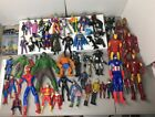 DC Marvel Comics Action Figure Lot Heroes Shazam Black Lightning Batman Hulk