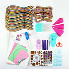 Quilling Paper Set Color Paper Drawing Material Package Beginners Learning Tool