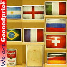 Style Funny Stickers Argentina Brazil England France Sticker Campbell Soup Swiss