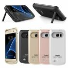 Ultra Slim Extended Battery Charging Case Cover For Samsung Galaxy S7 S7 Edge