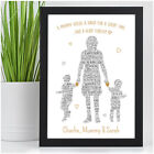 PERSONALISED Mum Mummy and Children Son Daughter Mothers Day Birthday Gifts