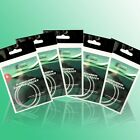 15pcs Length 7.5ft FLY FISHING line FLUOROCARBON TAPERED LEADER size 0X to 7X