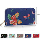 New Ladies Zip Around Boutique Butterfly Purse Women Money Card Girl Coin Wallet
