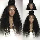 180% Density Pre-Plucked Brazilian Kinky Curly Virgin Hair 360 Lace Frontal Wig