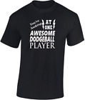 Awesome Dodgeball Player T shirt New Funny Gift Sport Cool Birthday